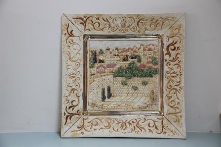 Wailing wall jerusalem old city